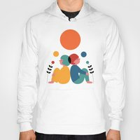 60s Hoodies featuring Miss you by Andy Westface