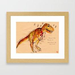 Trex Framed Art Print