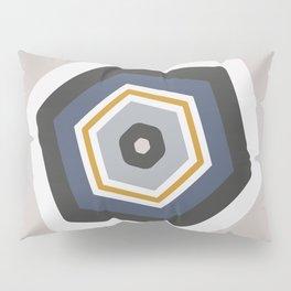 hexagon purple Pillow Sham