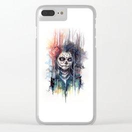 sugar skull - calavera de azucar Clear iPhone Case