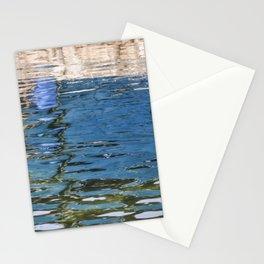 Reflecting Blues Stationery Cards