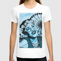 coachella T-shirts featuring Coachella Fitzgerald by EZCO