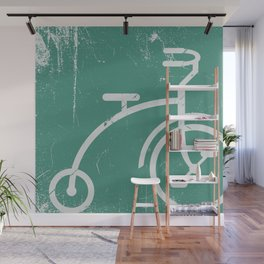 Grunge bicycle Wall Mural