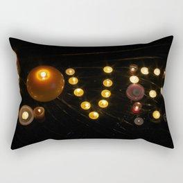 Candle Love Rectangular Pillow