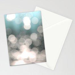 Aqua and Grey Stationery Cards