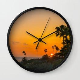 Tropics in Laguna Wall Clock