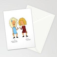 Beavis Mattel and Butthead Zamolodchikova Stationery Cards