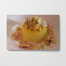Corn & Crap Souffle Metal Print