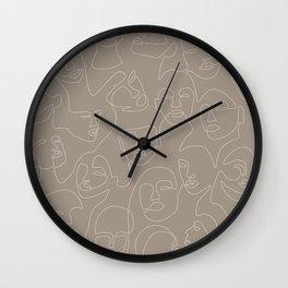 Skin Lace Wall Clock