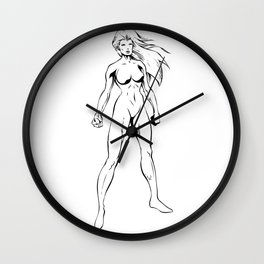 Heroine Wall Clock
