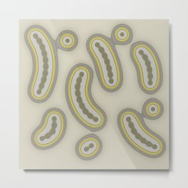 Silly Beans Metal Print
