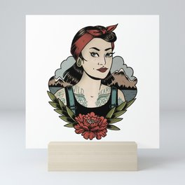 WILD HEART Mini Art Print