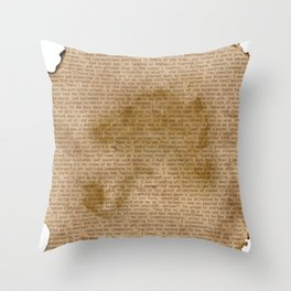 My Dear Watson Throw Pillow