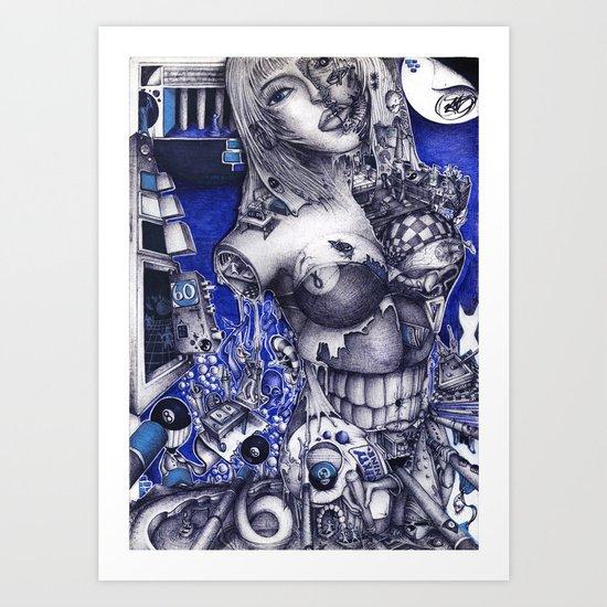 SIXTYNINE Art Print