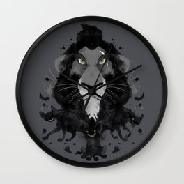 Scar Ink Wall Clock