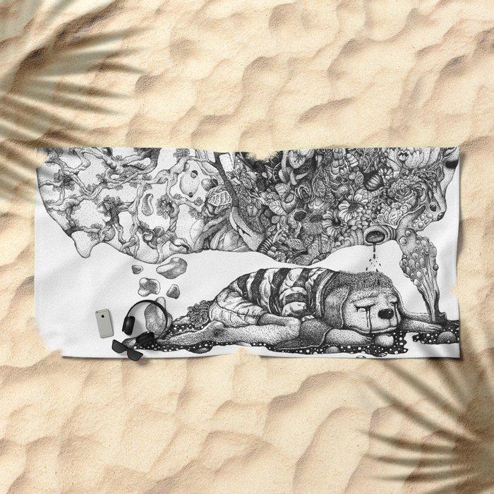 Love is a Dream Beach Towel