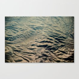 Amazing Earth - Wrinkled Mountains Canvas Print