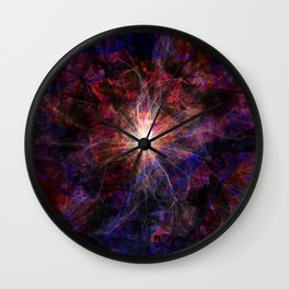 A light in the darkness Wall Clock