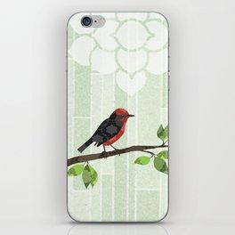 Bird in Tree iPhone Skin