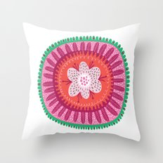 Suzani II Throw Pillow
