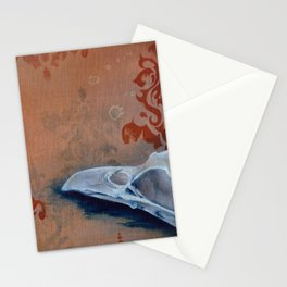 Oil Paint Study - Magpie Pattern Stationery Cards