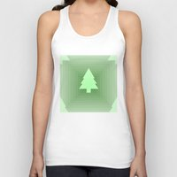 christmas tree Tank Tops featuring Christmas Tree by Mr and Mrs Quirynen