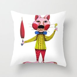 Let's Party - Jackie Throw Pillow