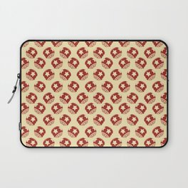 Pattern Christmas Ornament Balls Tree Laptop Sleeve