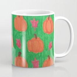Green Pumpkin Patch Coffee Mug