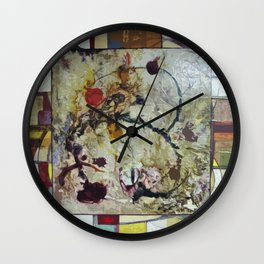 Comets Wall Clock