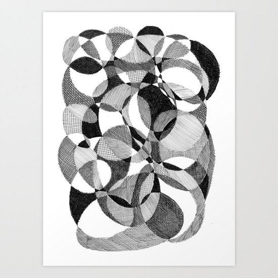 Doodle Art Print