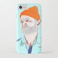 zissou iPhone & iPod Cases featuring Doc Zissou by The Art Warriors