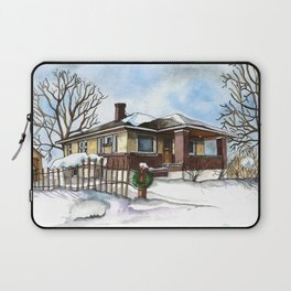 A Bungalow in the Country Laptop Sleeve