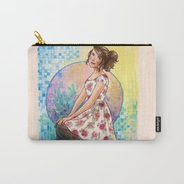 No April Showers Here Carry-All Pouch