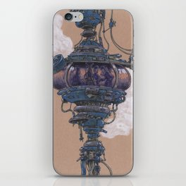 Bubble in the Line iPhone Skin
