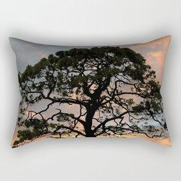 Florida Pine Tree Rectangular Pillow