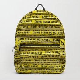 Crime scene / 3D render of endless crime scene tape Backpack