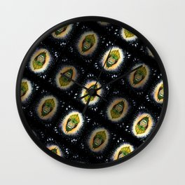 Nug Bat Pattern Wall Clock