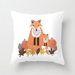 Automne (Autumn) Throw Pillow