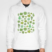 succulents Hoodies featuring Succulents by Anna Alekseeva kostolom3000