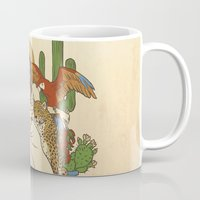 mexico Mugs featuring Mexico by Anne Kelley