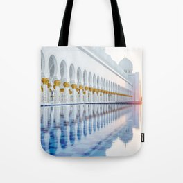 Abu Dhabi Sunset Tote Bag