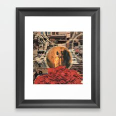 come on and sew us together Framed Art Print