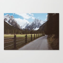 Let's hike together - Landscape and Nature Photography Canvas Print