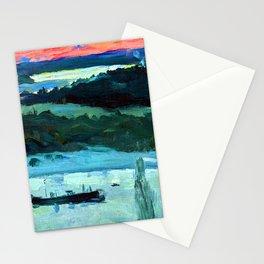 Mikhail Nesterov Volga River Stationery Cards