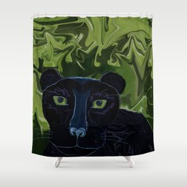 Do Panthers Fly? Shower Curtain