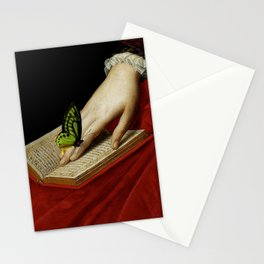 Gentle Reader Cropped Art Stationery Cards