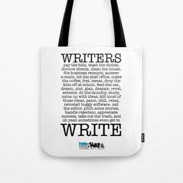 WRITERS WRITE! Tote Bag