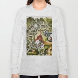 White Rabbit Long Sleeve T-shirt