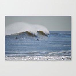 Rockaway, NY Surf Spikes Canvas Print